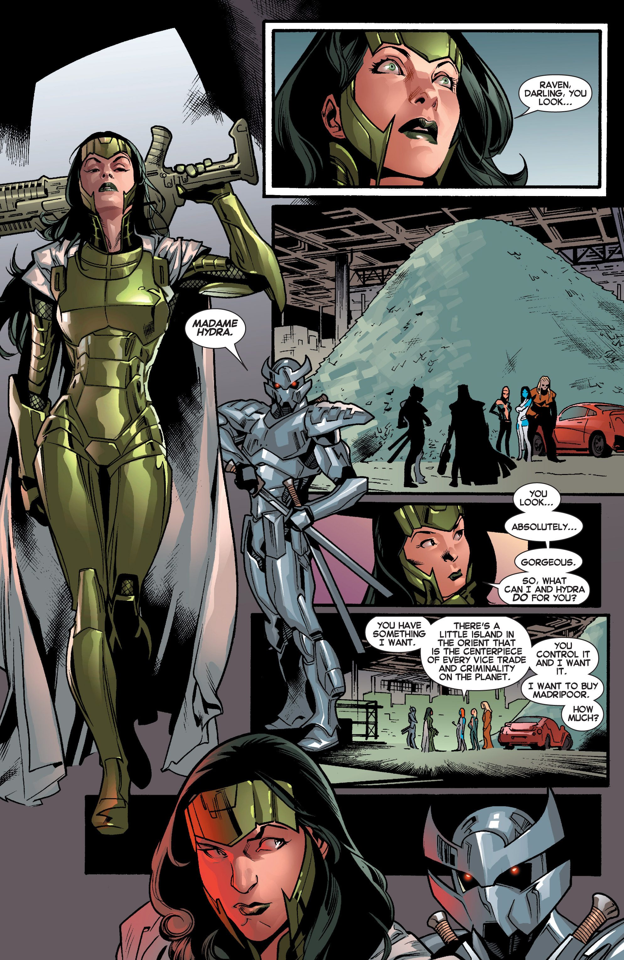Read online All-New X-Men (2013) comic -  Issue # _Special - Out Of Their Depth - 58