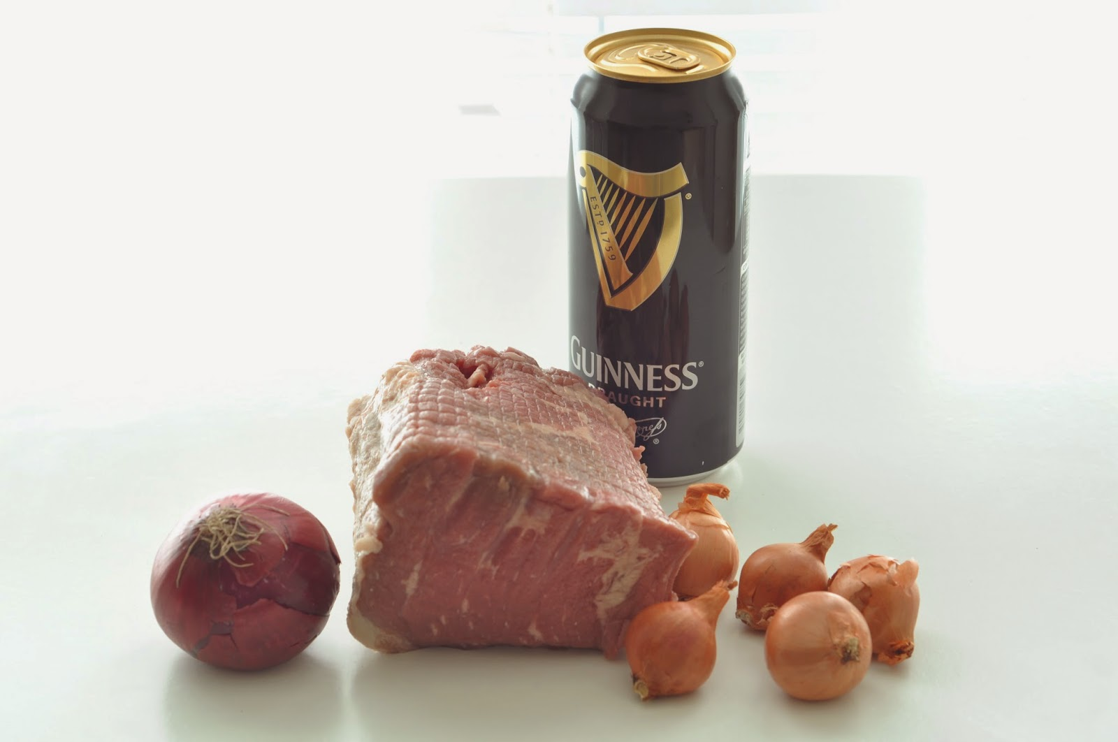 Beef in Guinness and Shallots ~ Simple Food