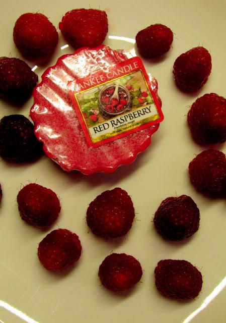 Red Raspberry Wosk Yankee Candle