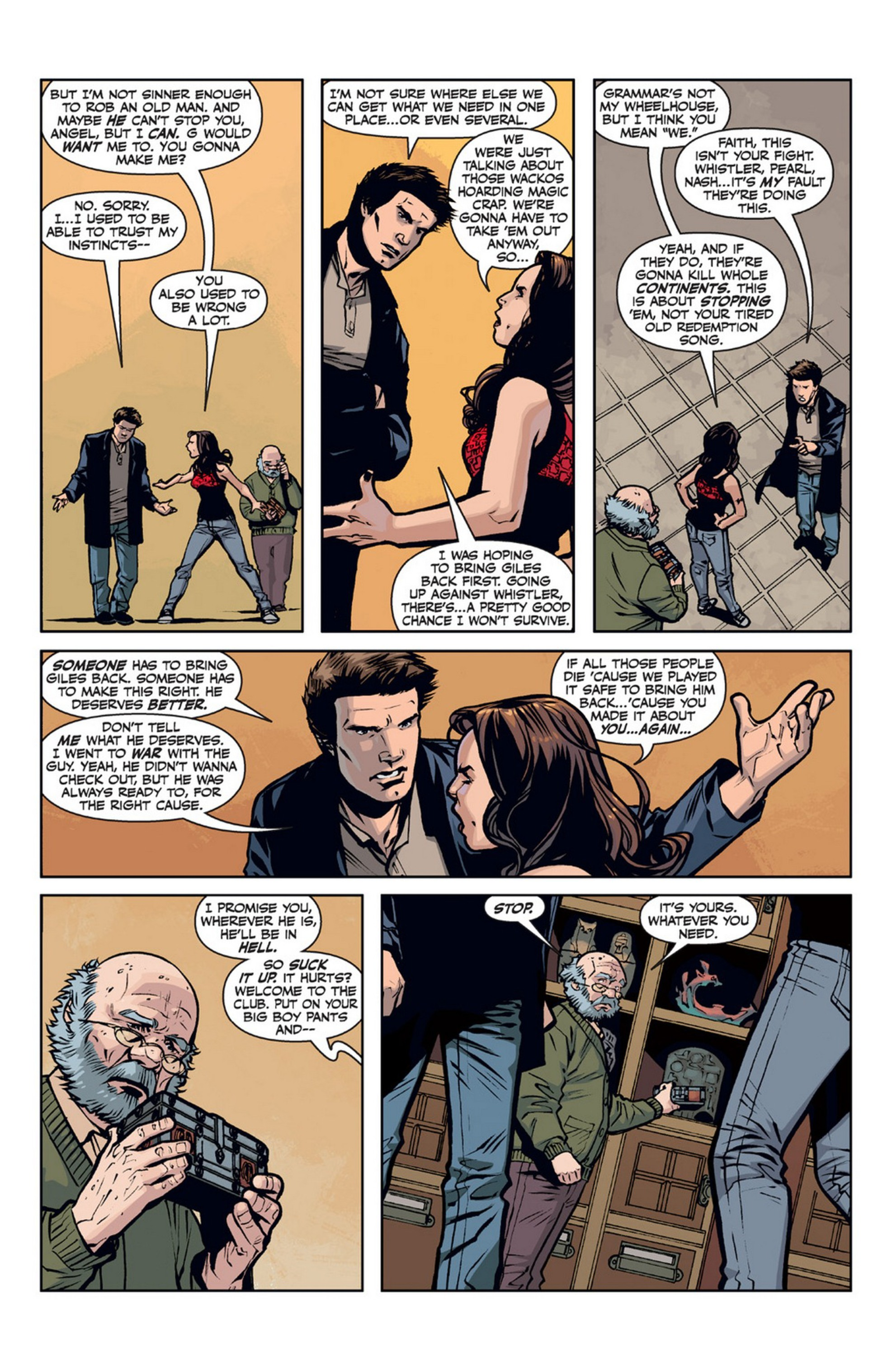 Read online Angel and Faith comic -  Issue #21 - 12