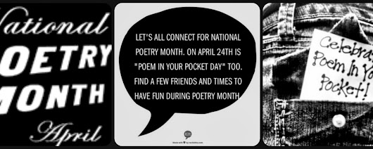 It's Almost National Poetry Month....Time To Start Connecting & Planning Some Fun!