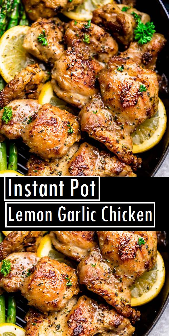 Instant Pot Lemon Garlic Chicken | Recipes Made Easy