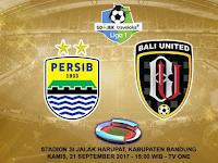 Prediksi Persib vs Bali United, 21 September 2017