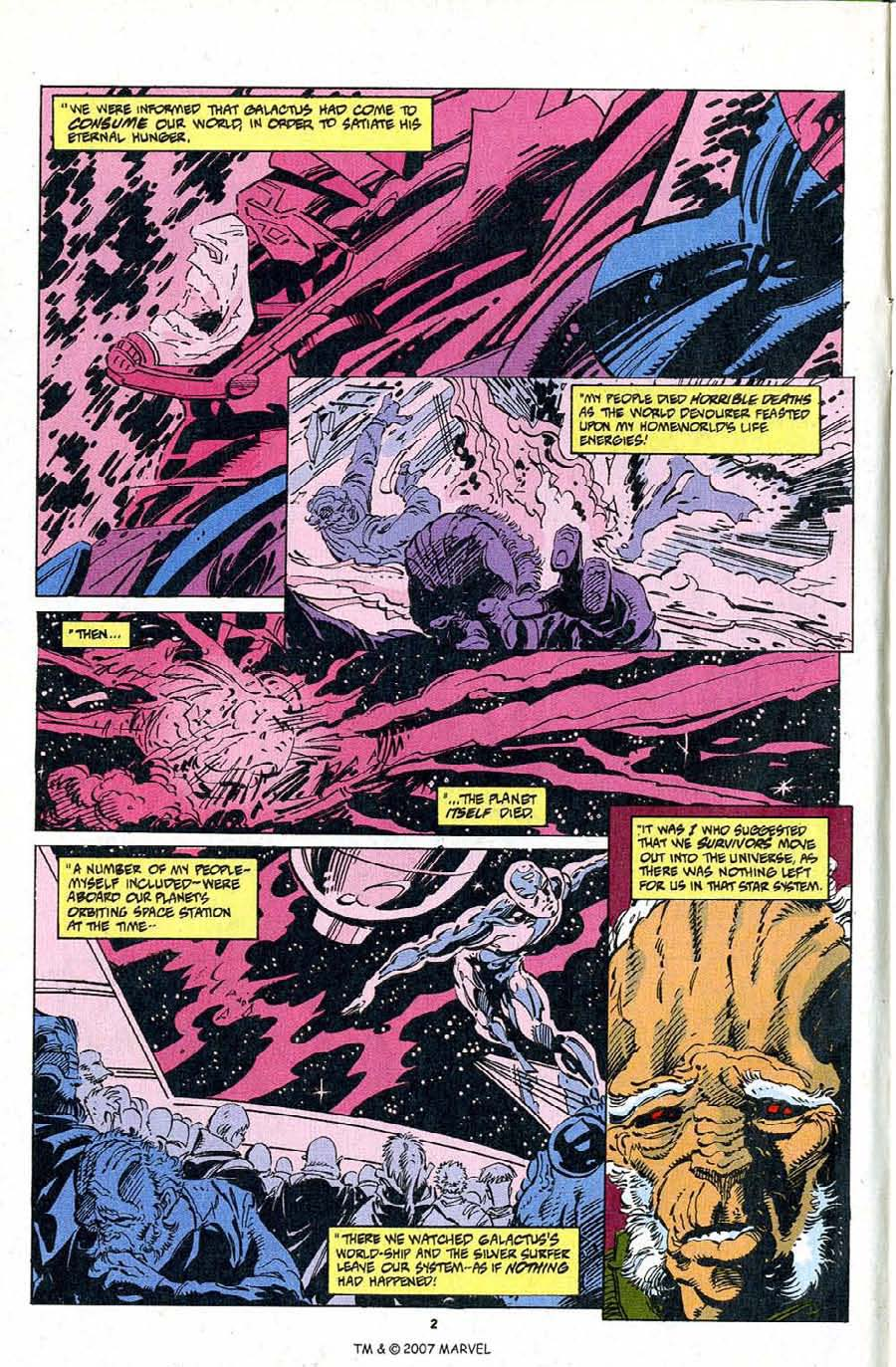 Silver Surfer (1987) Issue #103 #111 - English 4