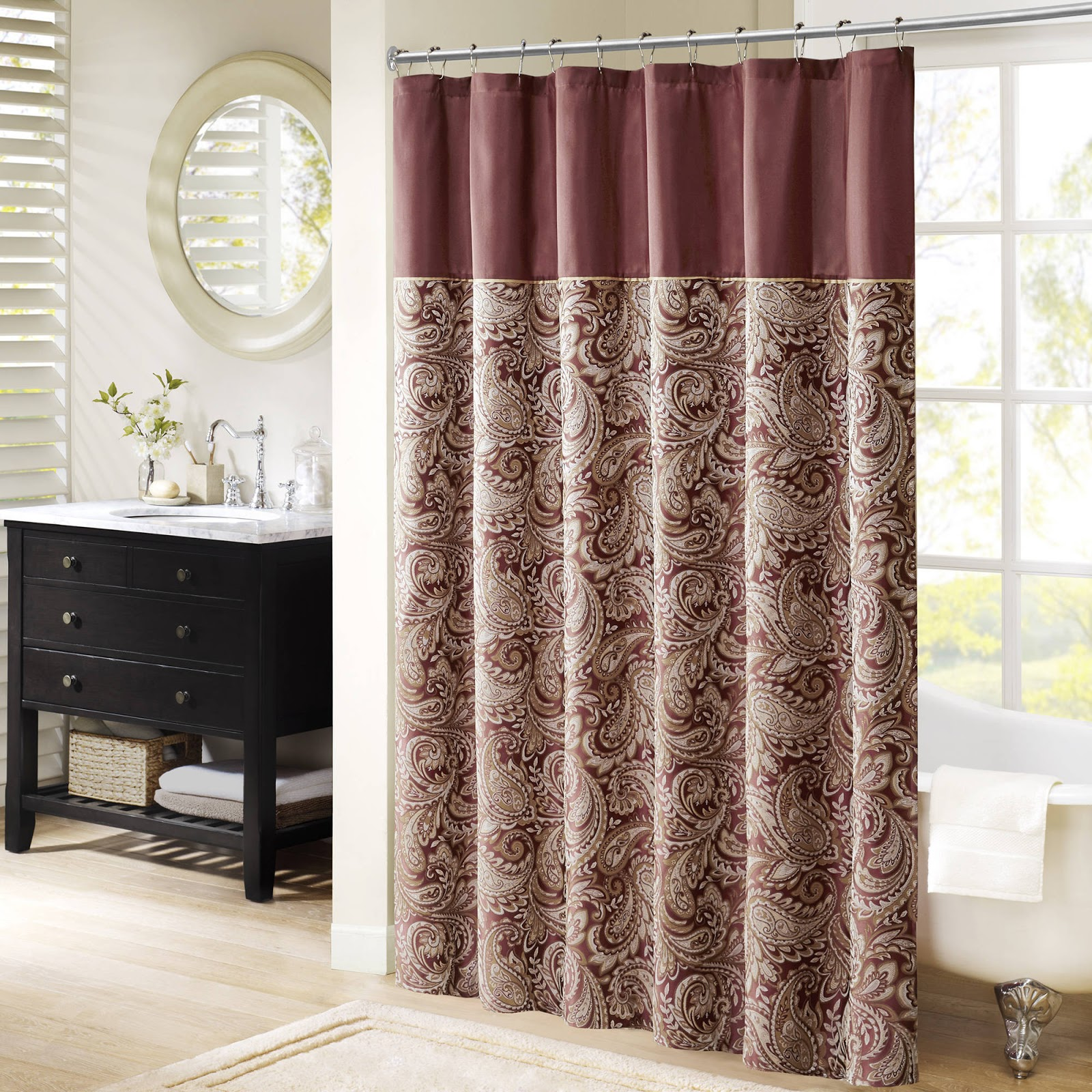 Curtain For Small Windows Stage Window In Door Shower On