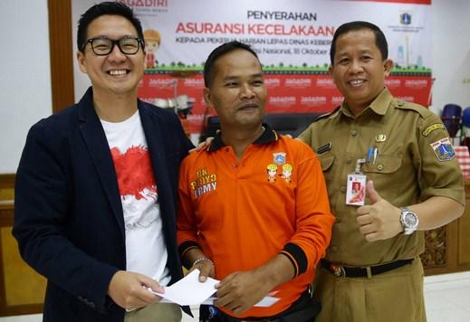 Pasukan Orange Besutan Ahok Dinilai Kerja Baik dan Bantuan dari Masyarakat Berdatangan
