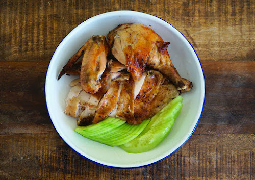 Seasaltwithfood baked salted chicken with dan gui forumfinder Choice Image