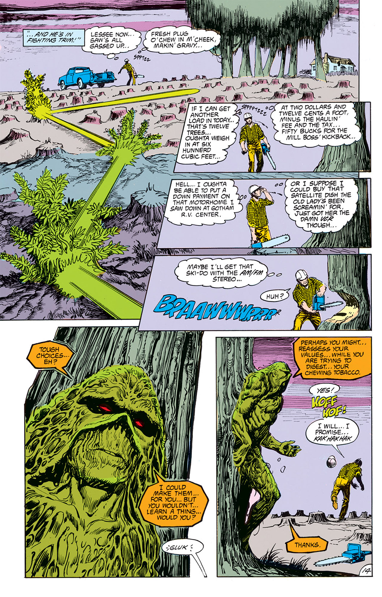 Swamp Thing (1982) Issue #67 #75 - English 16