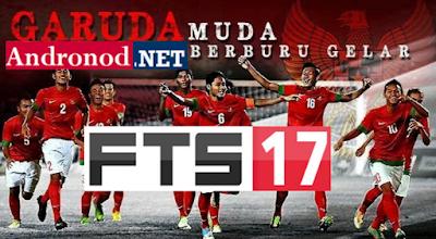 Garuda17: FTS Mod FIFA 17 Apk+Data by DrHa (Unlimited Money+Full Indonesian Club)