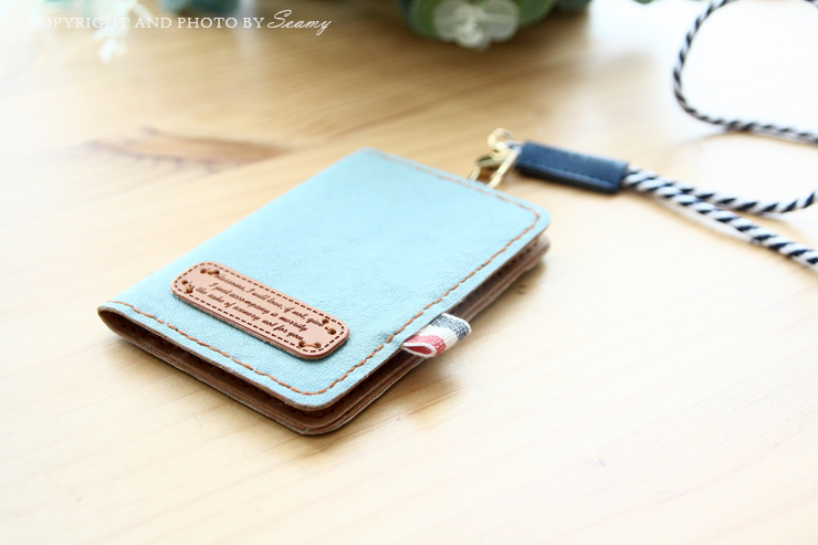 Simple DIY Faux leather wallet gift card holder, perfect gift.