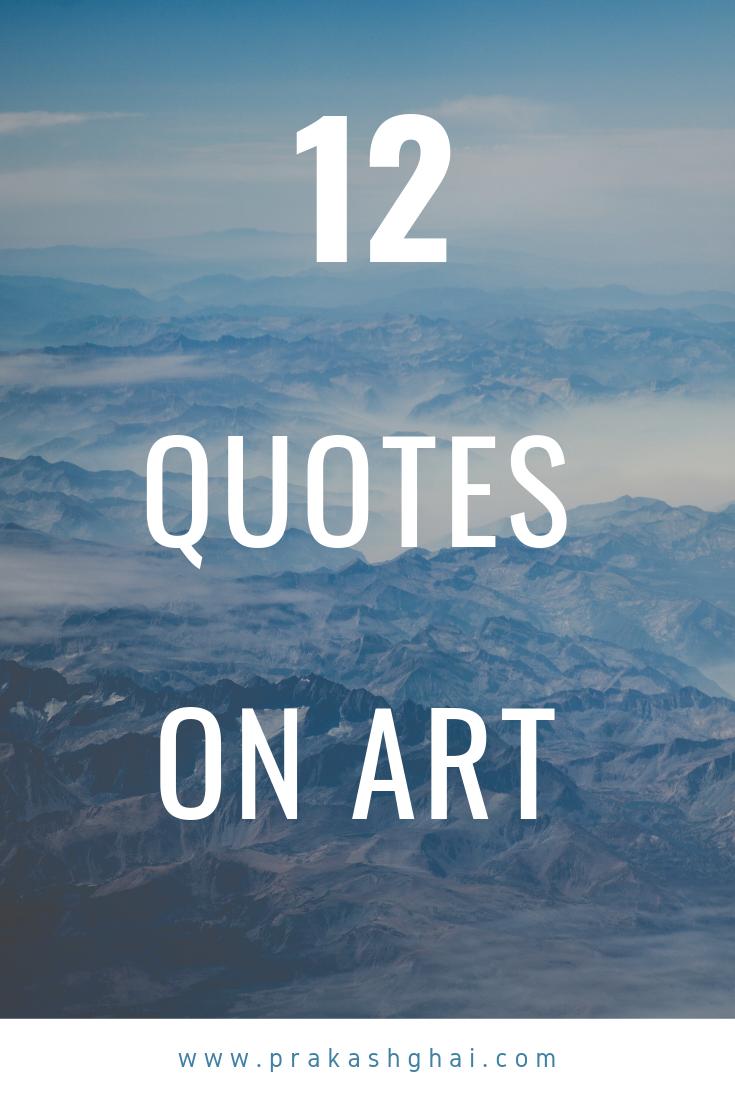 Minimalist Photography By Prakash Ghai 12 Quotes On Art