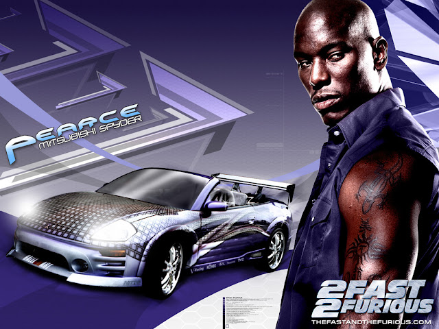 2 Fast 2 Furious, Eclipse Spyder GTS, Roman Pearce