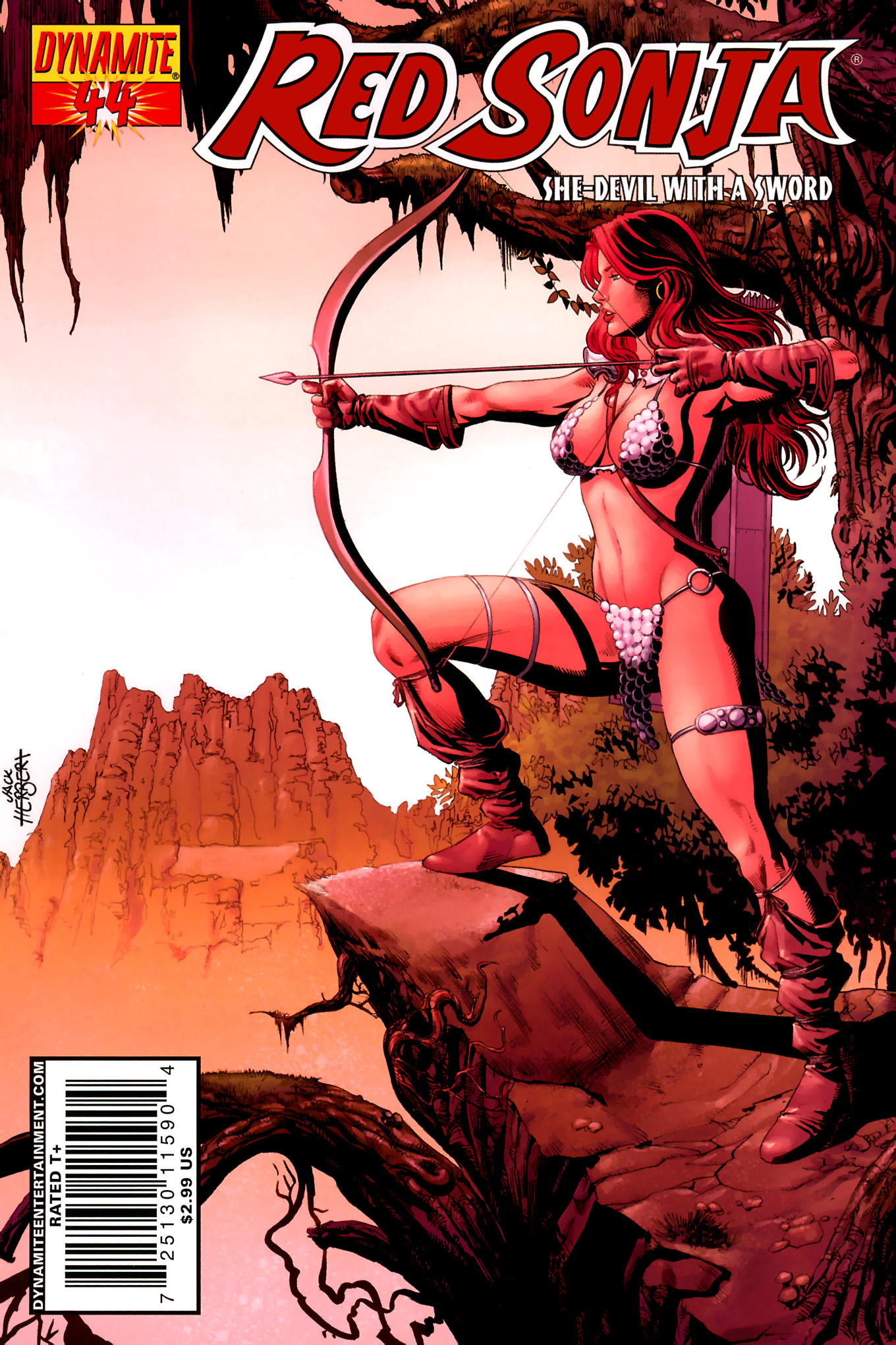 Read online Red Sonja (2005) comic -  Issue #44 - 3