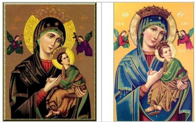 Lịch sử bức linh ảnh Đức Mẹ Hằng Cứu Giúp