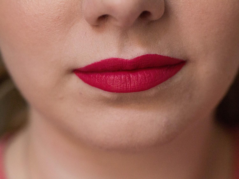 sephora lip stain 03  na ustach