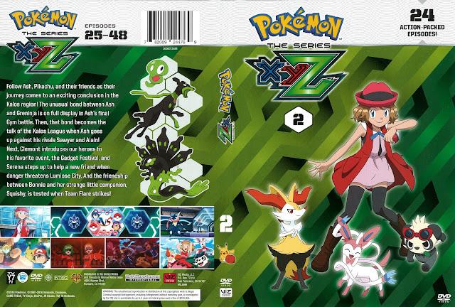 Pokémon The Series XYZ Volume 2 DVD Cover