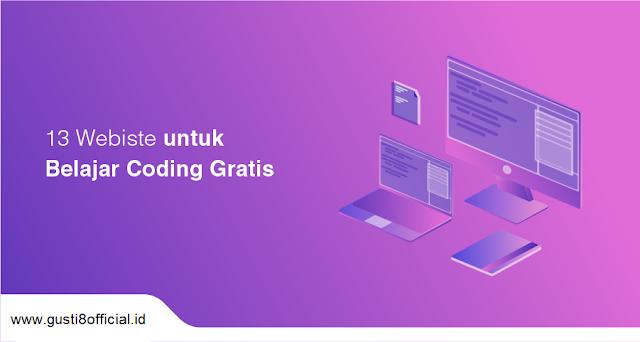 13 Website Belajar Coding Gratis