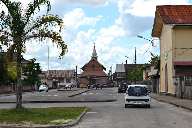 Guyane, Saint Laurent du maroni, camp de la transportation, ville coloniale