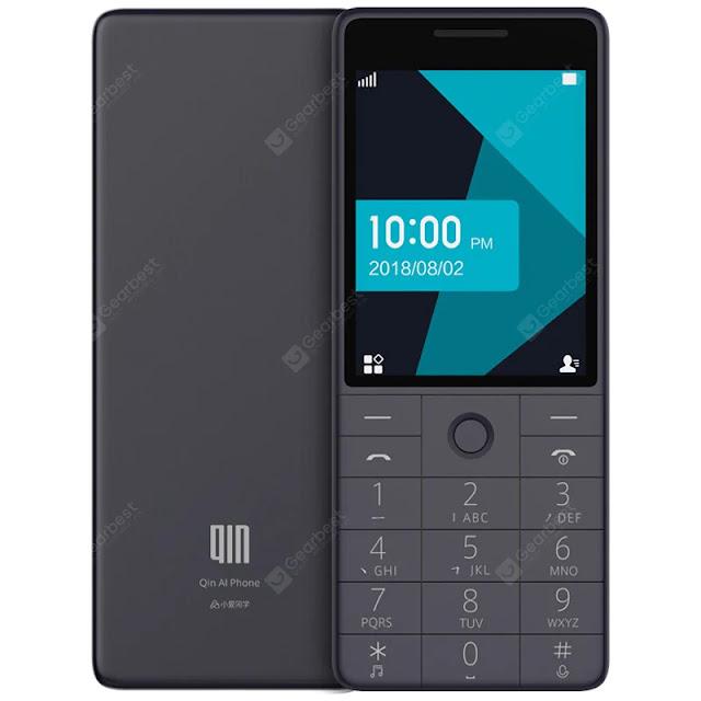 Xiaomi QIN 1S 4G Feature Phone Non-brush Machine English Version Chinese Manual CN Plug