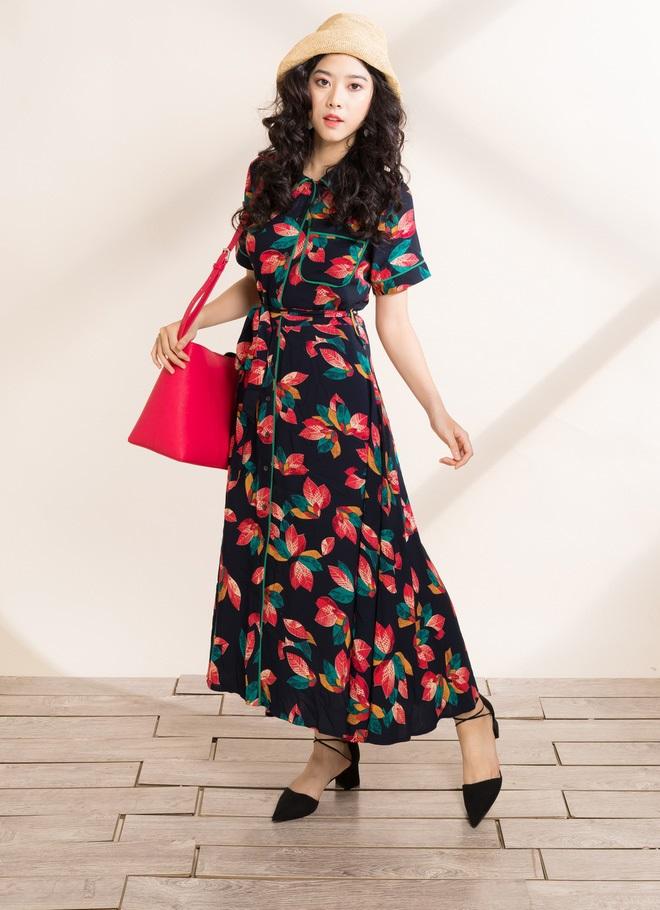 Công thức mặc đẹp với váy hoa cho các cô nàng mùa hè đây rồi