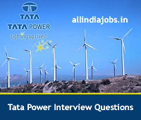 Tata Power Interview Questions