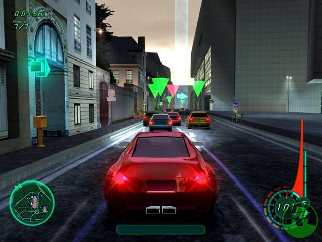 Midnight Club 2 Game Screenshot