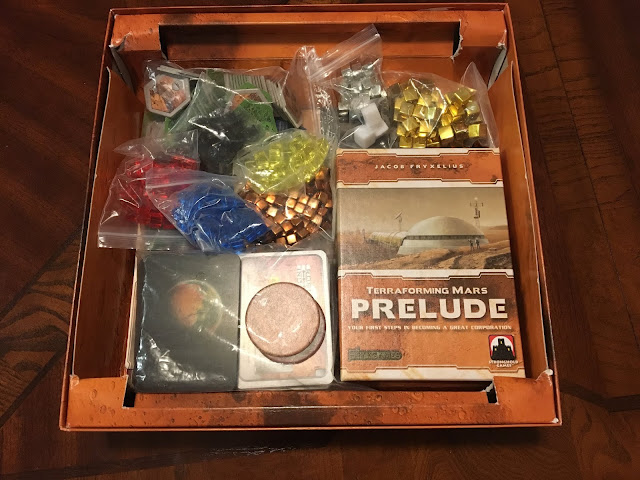 Terraforming Mars Prelude Expansion fits inside the main box!