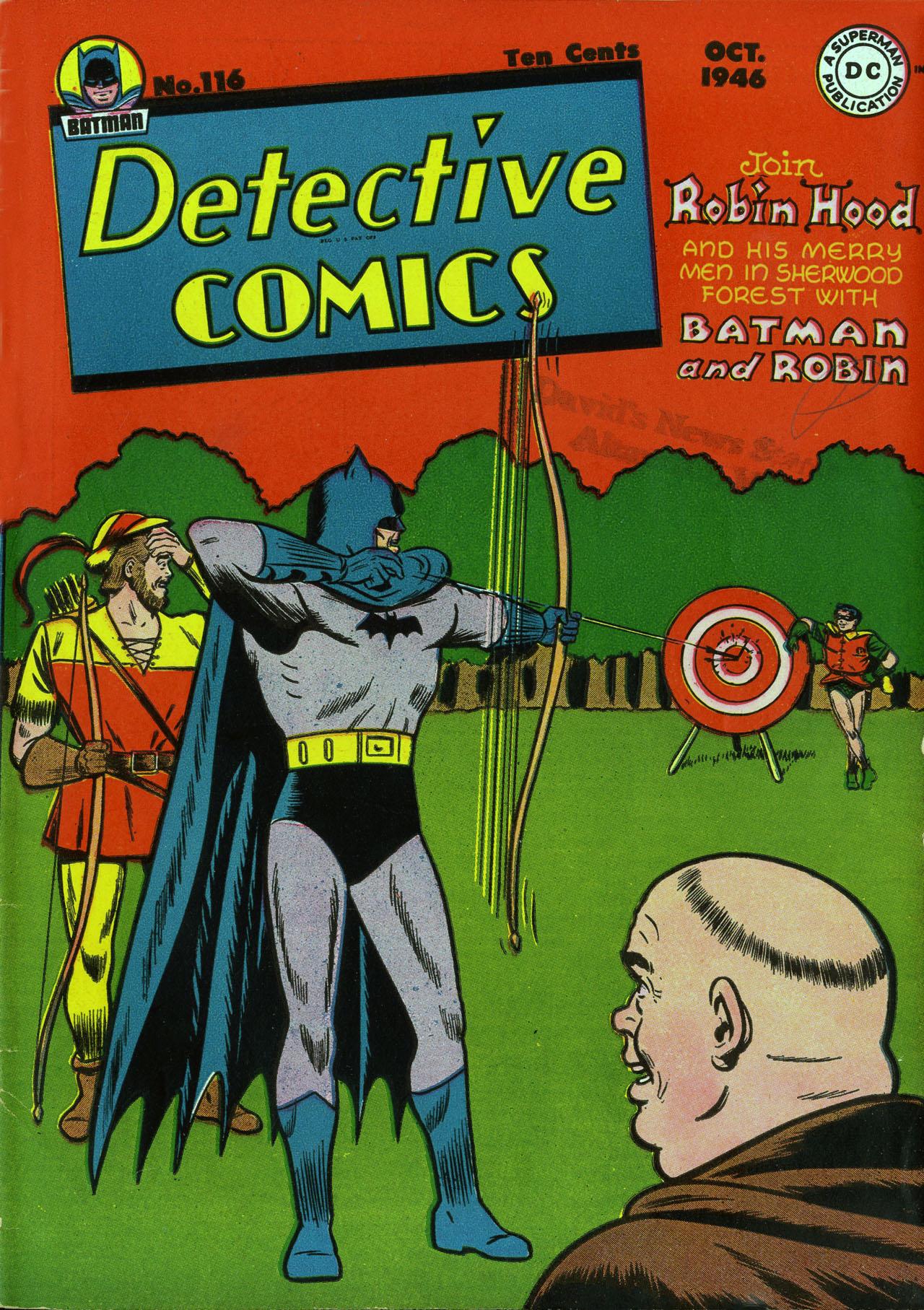 Detective Comics (1937) 116 Page 1