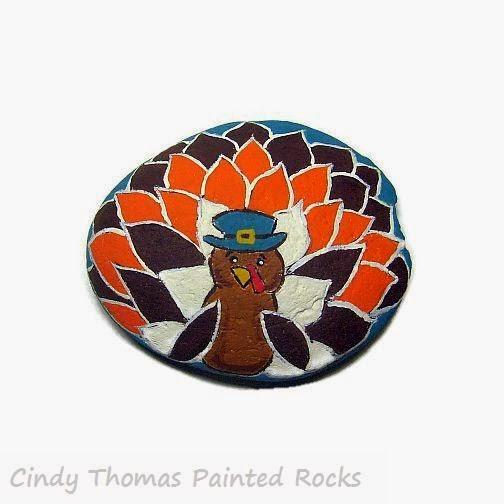 Turkey Rock Painting Ideas