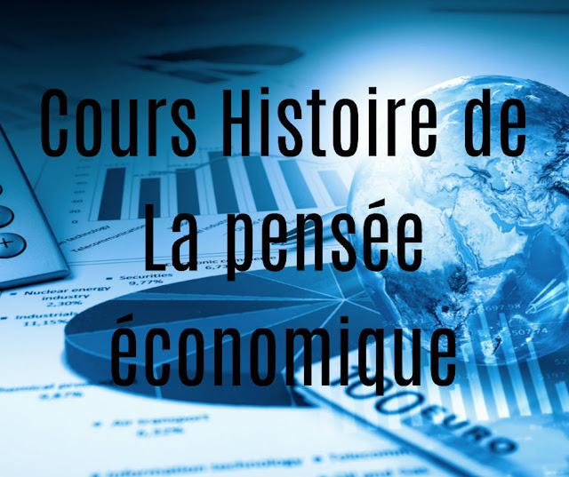 Cours Histoire de La Pensée Economique