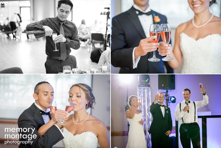 Holy Family Church Wedding followed by Ocean Themed Dance Reception at Yakima Harmon Center || Michelle + Miguel