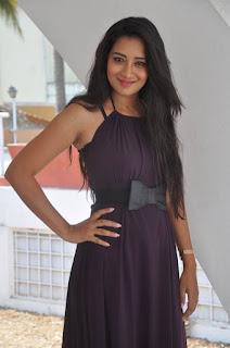 Actress Bhanu Stills in Long Dress at Iddari Madhya 18 Movie Launch  0031.jpg