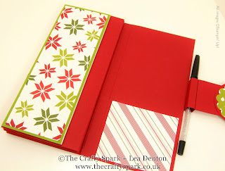 merry moments christmas organiser stampin up uk