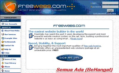 How Sign In Free Web Hosting
