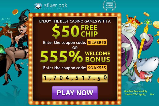 Silver Oak Casino Welcome Bonuses