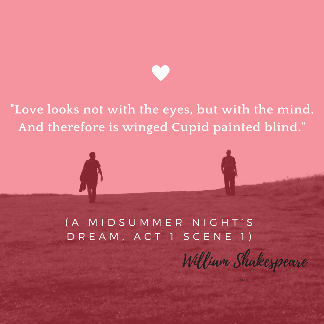 5 Shakespeare Quotes about Love for your Wedding