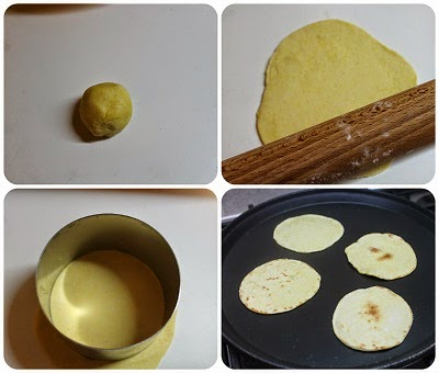 tortillas ricetta