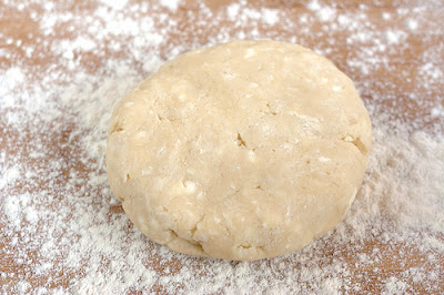 Place disc of dough on floured cutting board