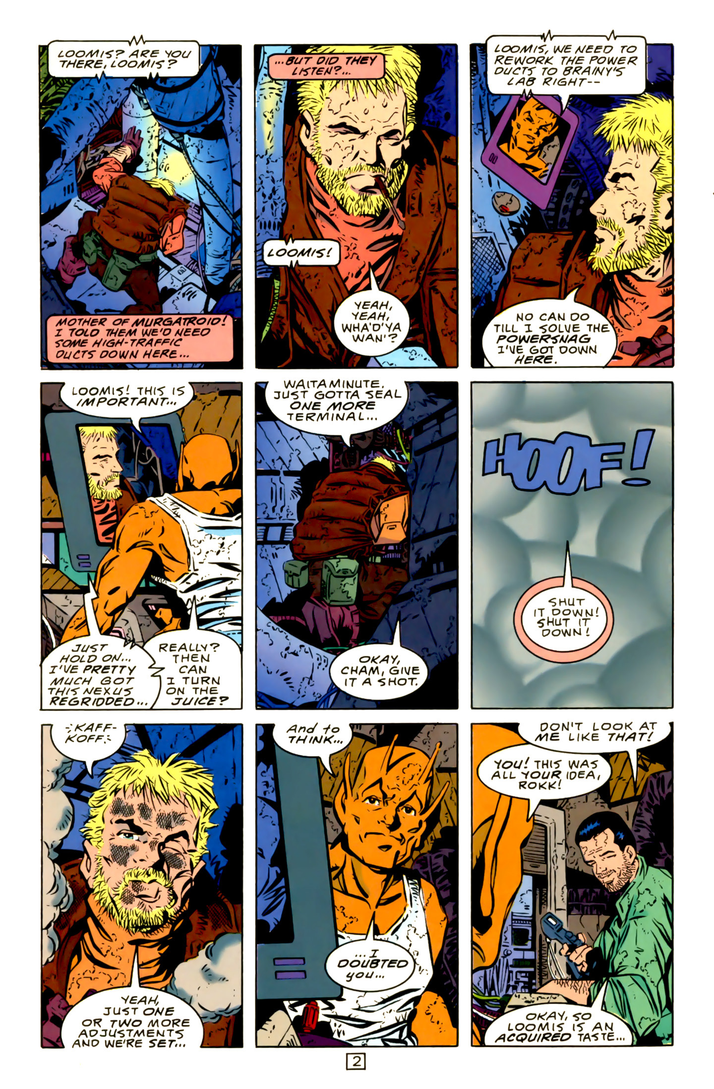 Legion of Super-Heroes (1989) 15 Page 2