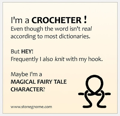 I am a CROCHETER
