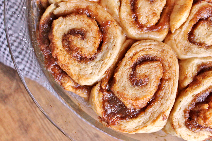 Momma Told Me: Spiced Rum Cinnamon Rolls Recipe