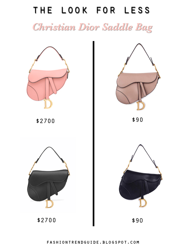 Christian Dior saddle bag dupes and replicas