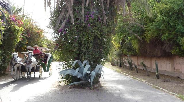 Kutschfahrt durch Marrakesch