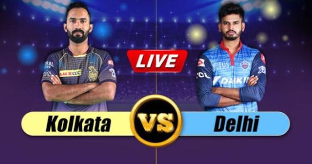 VIVO IPL 2019 Match 26 KKR vs DC Live Score and Full Scorecard