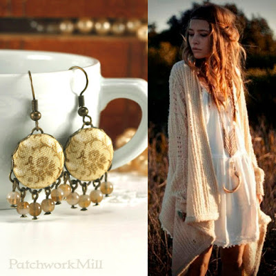 Antique Bohemian Earrings