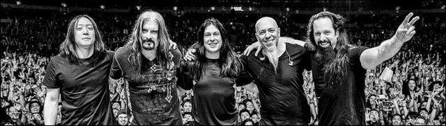 Dream Theater tras Finalizar un Concierto