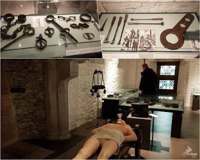 museo tortura de castillo de los Condes de Gante
