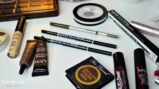 favoritos maquillaje 2016 rubibeauty cejas nyx Kiko