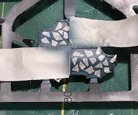 masking camouflage patterns on an adeptus titanicus warlord titan