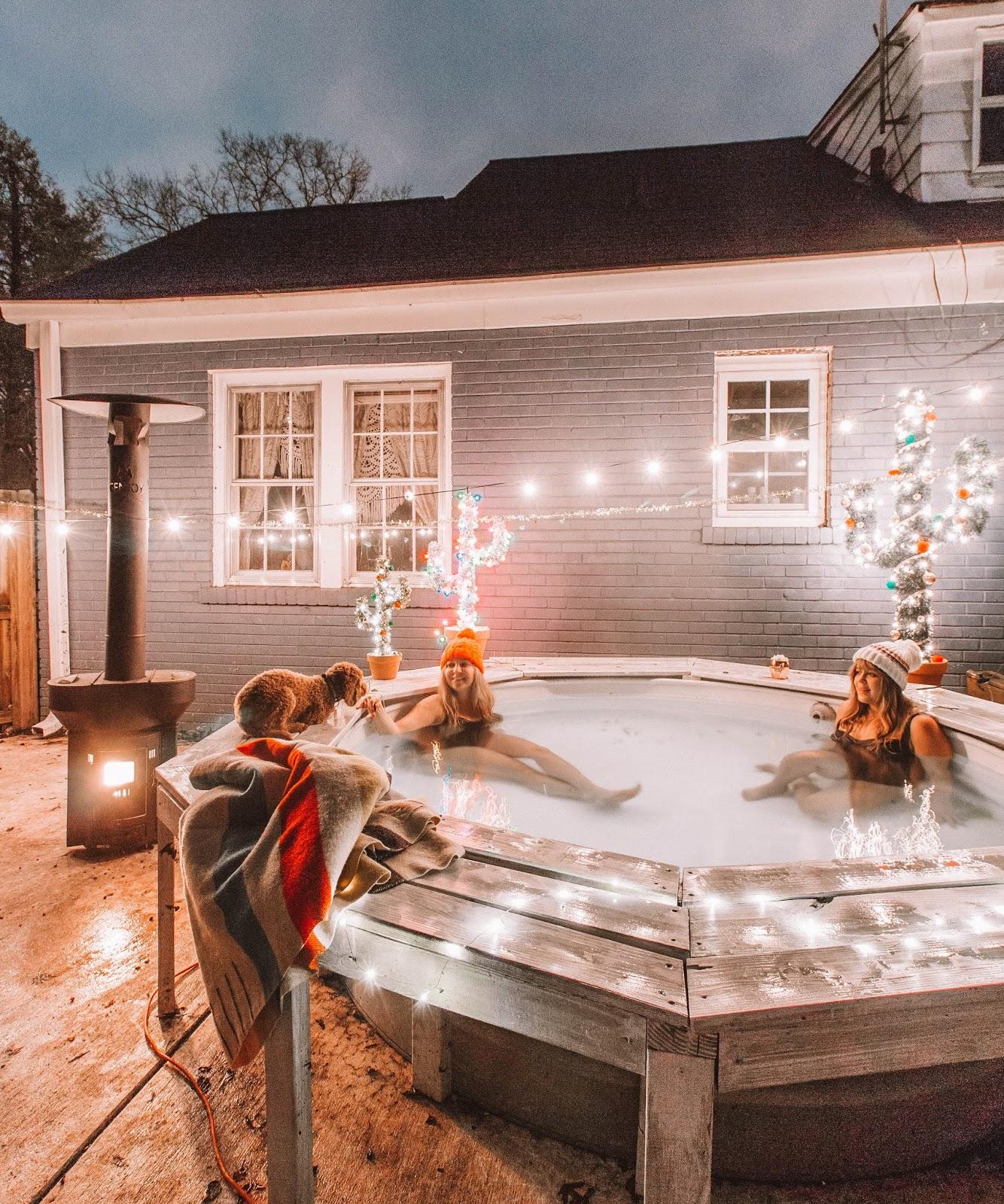 Beroemd Hot Tub DIY From A Stock Tank Pool #TT19